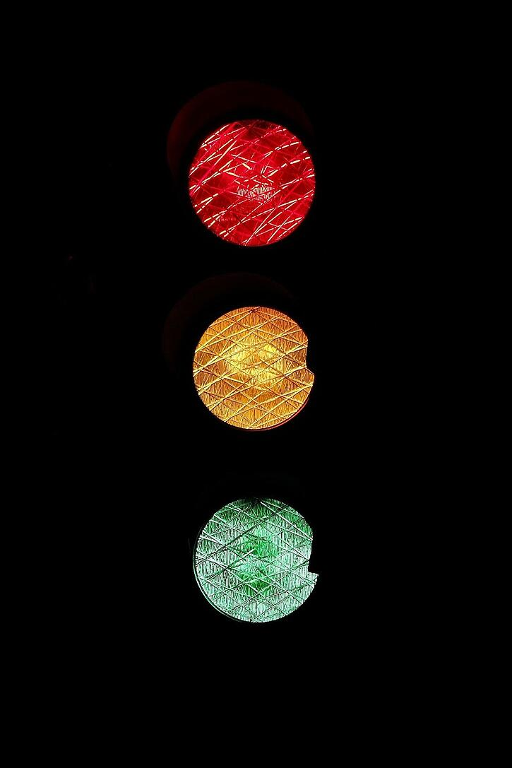 Traffic Light - Less Web Traffic can be Good