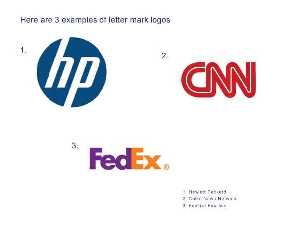 Letter Mark Logos - Branding