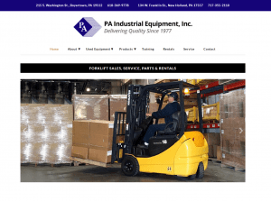 PA Industrial's New Website