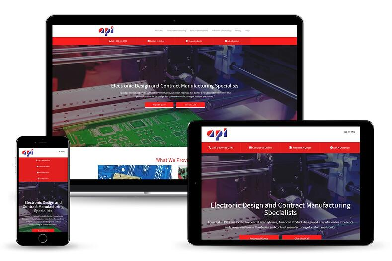 American Products, Inc website developed