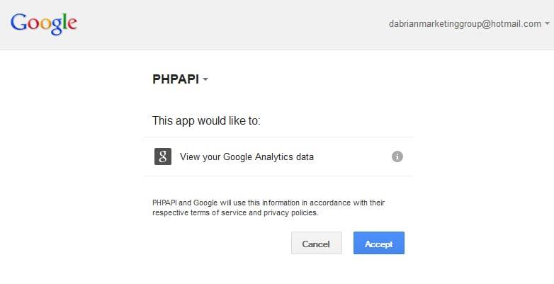 PHP API