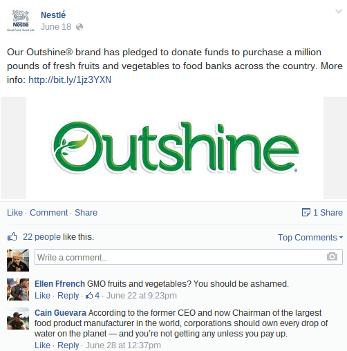 More unrelenting negativity towards Nestle...