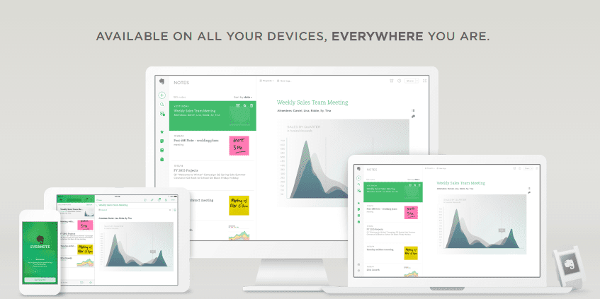 Evernote project management