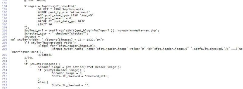 programmer-based wordpress frameworks