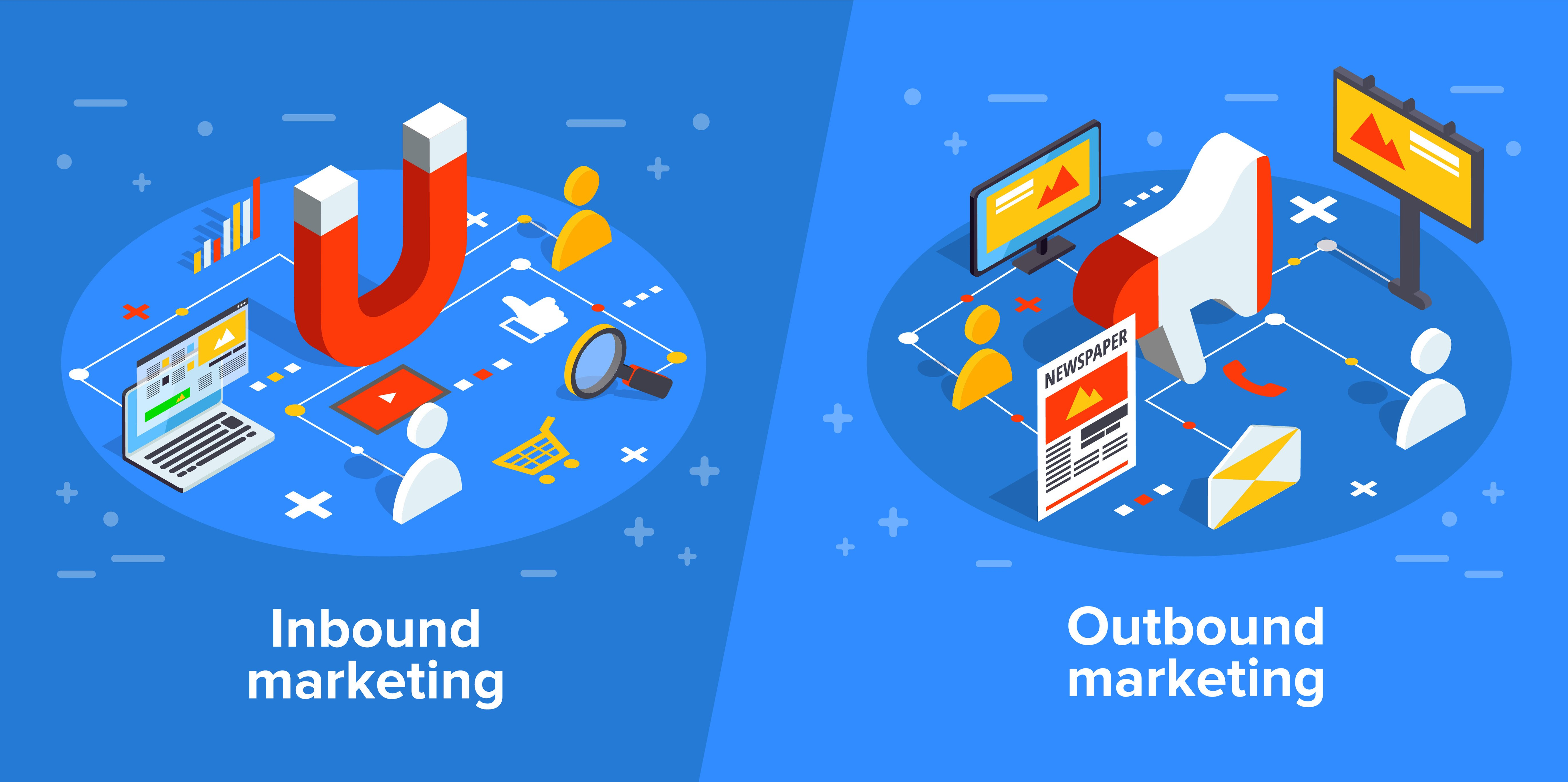 Inbound vs. Outbound Marketing - Which is More Effective