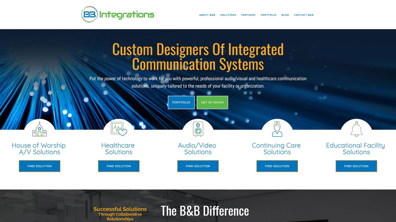 Website Design for Lancaster PA Company – B&B Integrations