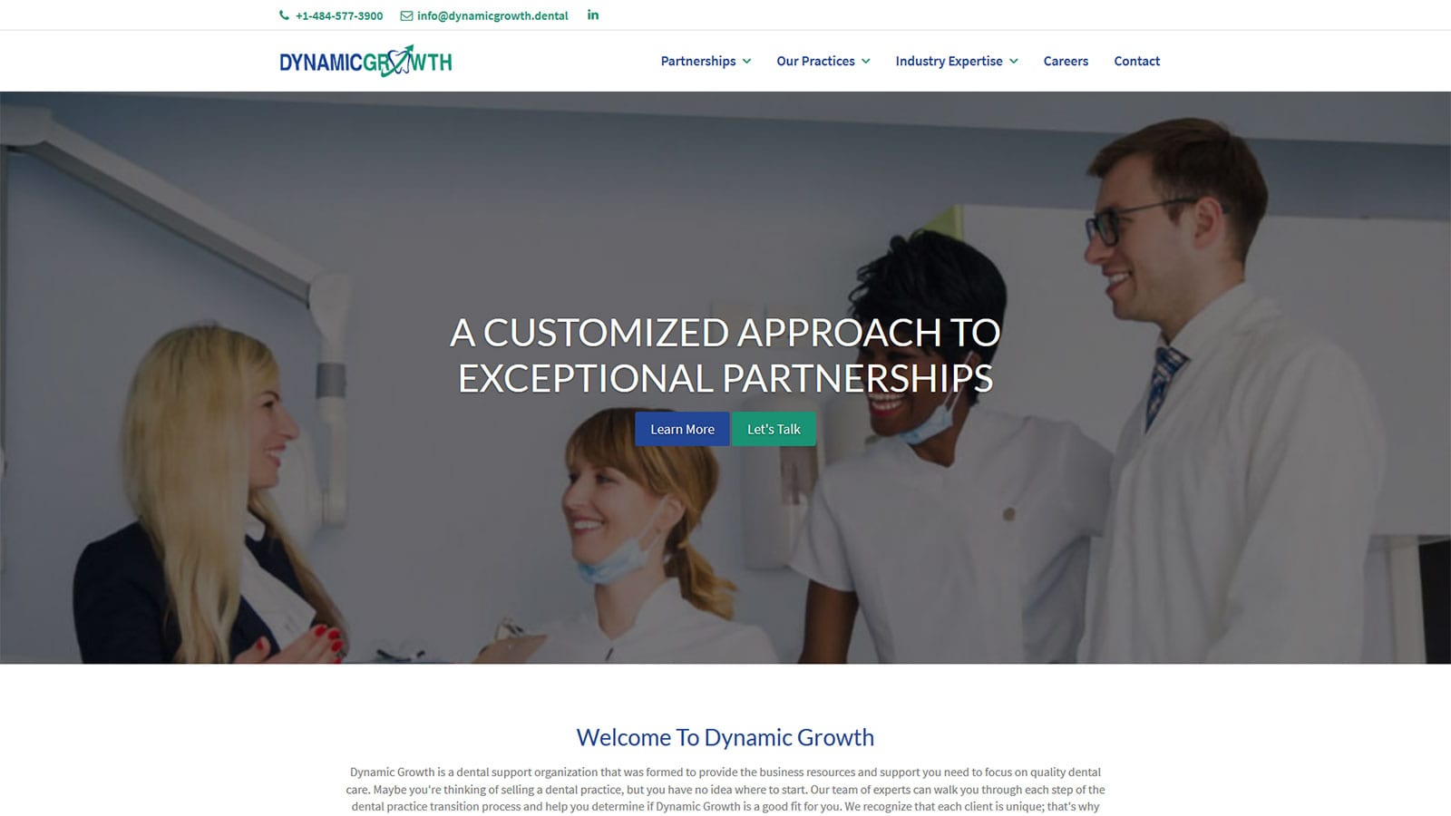 Dynamic Growth Ready to Reshape Dental Industry with New Website