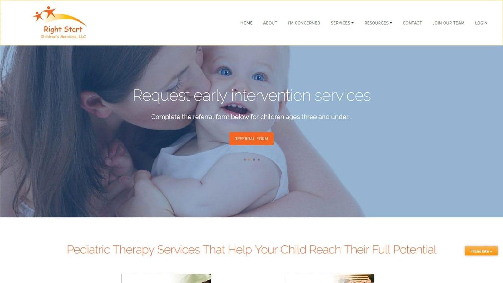 Right Start Children's Services Seeks Digital Marketing Support from DaBrian Marketing